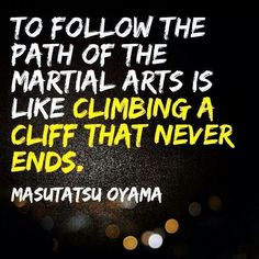 martial arts mentality. inspirational training quotes and words of ...