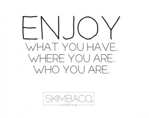 Skimbaco: 6 years of inspiring YOU to live life to the fullest ...