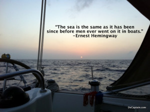 Ernest Hemingway, ocean, conservation quotes, ernest hemingway quotes ...