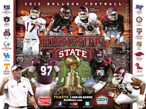 College Football Schedule Posters