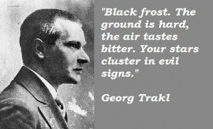 Georg Trakl 39 s quote 2