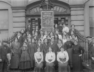... of the Irish Women Workers Union at Liberty Hall, Dublin, c 1914