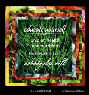 Dr.s do not take courses in nutrition. Because of this, they cannot ...