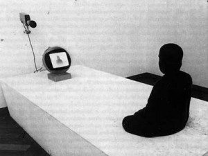Nam June Paik, TV-Buddha , 1974