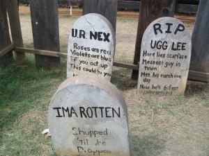 Humorous Tombstones Funny