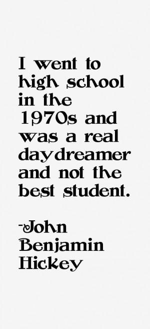 John Benjamin Hickey Quotes & Sayings