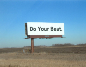 Motivational Quote on Always do your Best