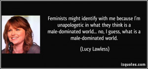 More Lucy Lawless Quotes
