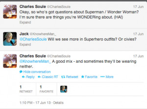 DC's Superman & Wonder Woman is about them screwing, apparently