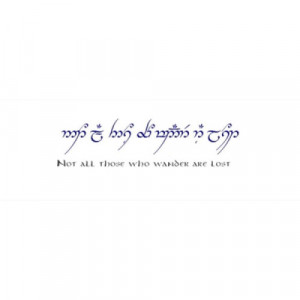 elvish quote