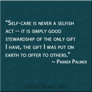 self-care quote by Parker Palmer