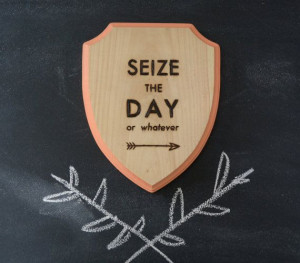 Engraved Wood Shield Wall Decor / Typography / Quote Art / Melon ...