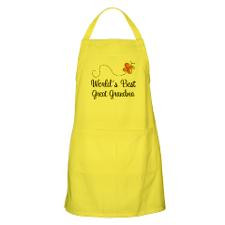 Worlds Best Great Grandma Apron Gift for
