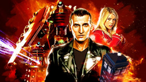 The Ninth Doctor (Christopher Eccleston) in Doctor Who