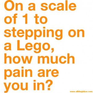 Stepping the Lego