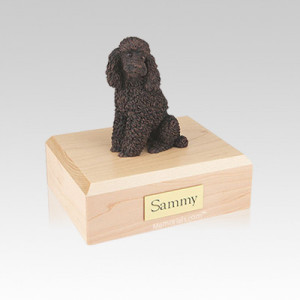 Small Memorial Poodle Dog Urns