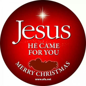 Jesus - He came for YOU! #merrychristmas
