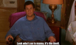 The Waterboy; Gay Marriage & Porn is the Devil (Video)