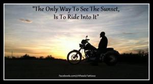 Riding into the sunset www.facebook.com/harleydavidsonlongbranch