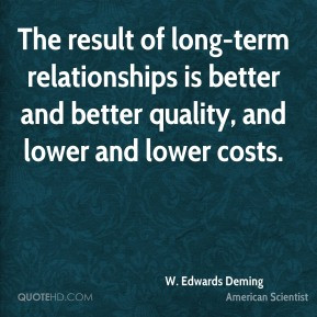 Edwards Deming American Scientist