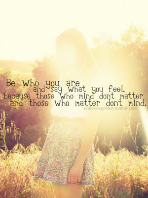 Long Quotes About Being Yourself Tumblr ~ Be Yourself Quotes Dr Seuss ...