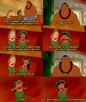 Sad Lilo And Stitch Quotes