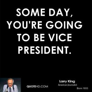 Vice President Funny Quotes