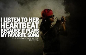 Quotes and sayings about girls love lil wayne rap