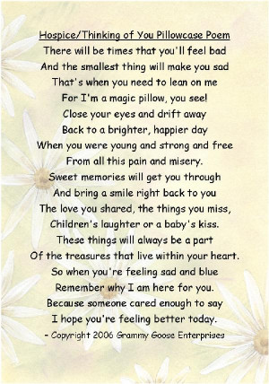 Hospice Poems