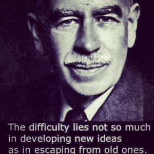 Here Is A Quote From John Maynard Keynes About Adopting New Ideas