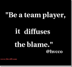 ... quote was forged and will become the basis for teamwork the world over