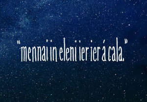 """11. """"Until the stars are all alight."""""""