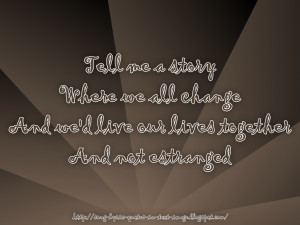 No Regrets - Robbie Williams Song Lyric Quote in Text Image