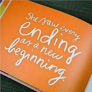 Endings & New Beginnings
