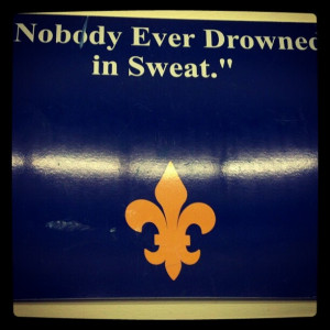 College Wrestling Quotes This is a quote hanging on the