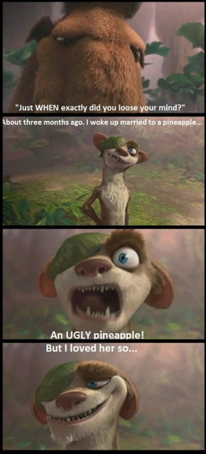Ice Age 3 Buck Quotes