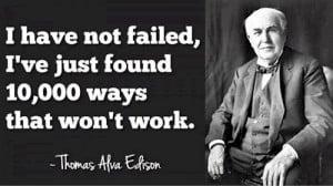 Thomas Alva Edison Quotes