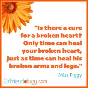 Girlfriendology miss piggy, friendship quote