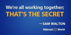 Sam Walton shares the secret to Walmart's success.