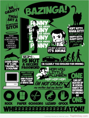 Best Sheldon Cooper's Quotes