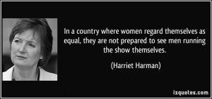 More Harriet Harman Quotes
