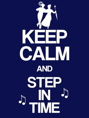 Keep Calm & Step in Time - Mary Poppins - Project Life Disney Filler ...
