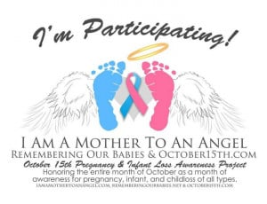 Pregnancy and Infant Loss Awareness Day