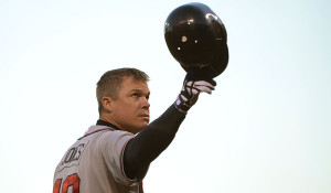 Chipper Jones makes his final trip to New York when the Braves visit ...