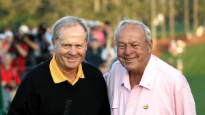 Lecka/Getty Images Jack Nicklaus and Arnold Palmer have many great ...