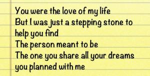... ex ex boyfriend ex girlfriend breakup heart broken quote lyrics