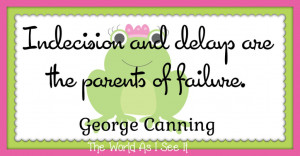 George Canning-Quote Of The Week