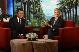 George Lopez appears on Thursday's 'Ellen DeGeneres Show' to ...