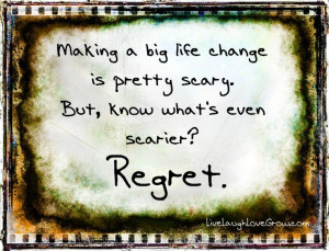 Making a big life change is pretty scary. But, know what's even ...