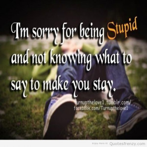 Sad Love Quotes For A Boy